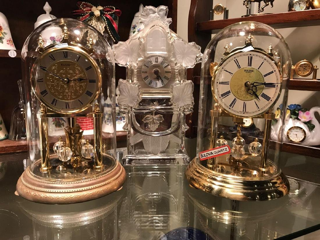 Collection of Desk and Miniature Clocks - 2