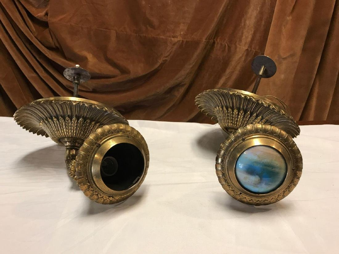Solid Brass Victorian Sconces
