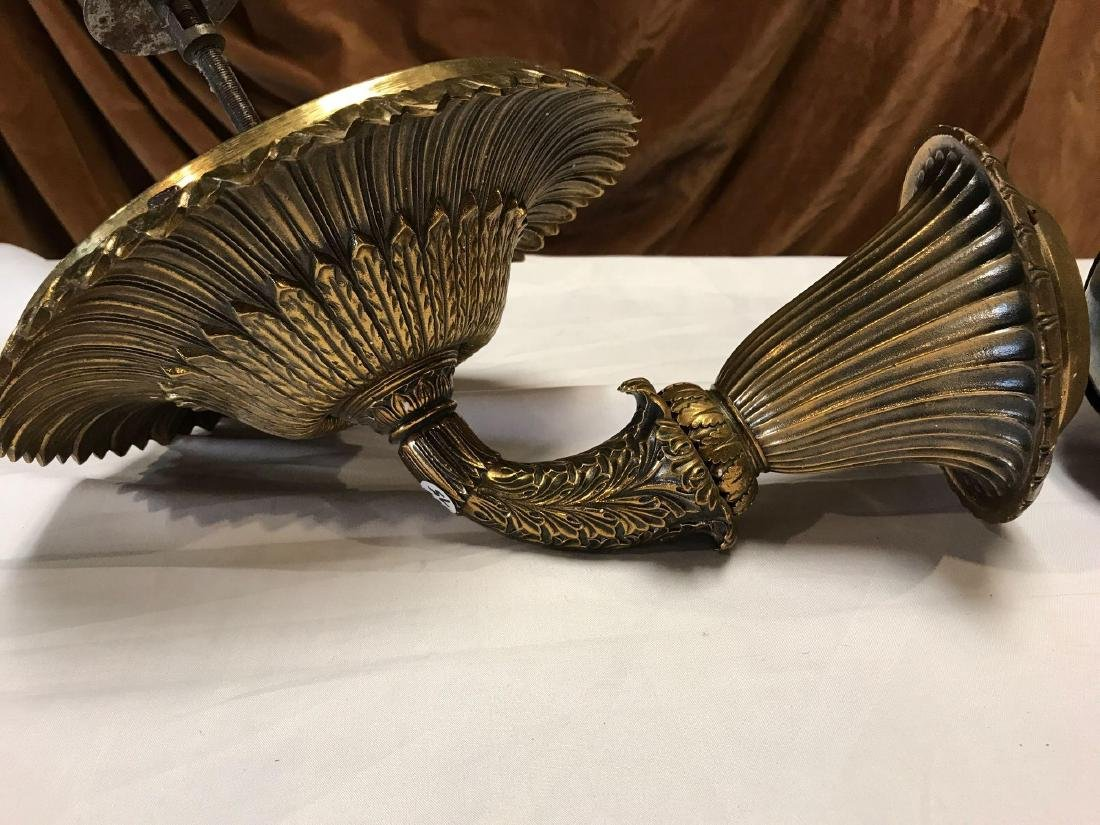 Solid Brass Victorian Sconces - 4