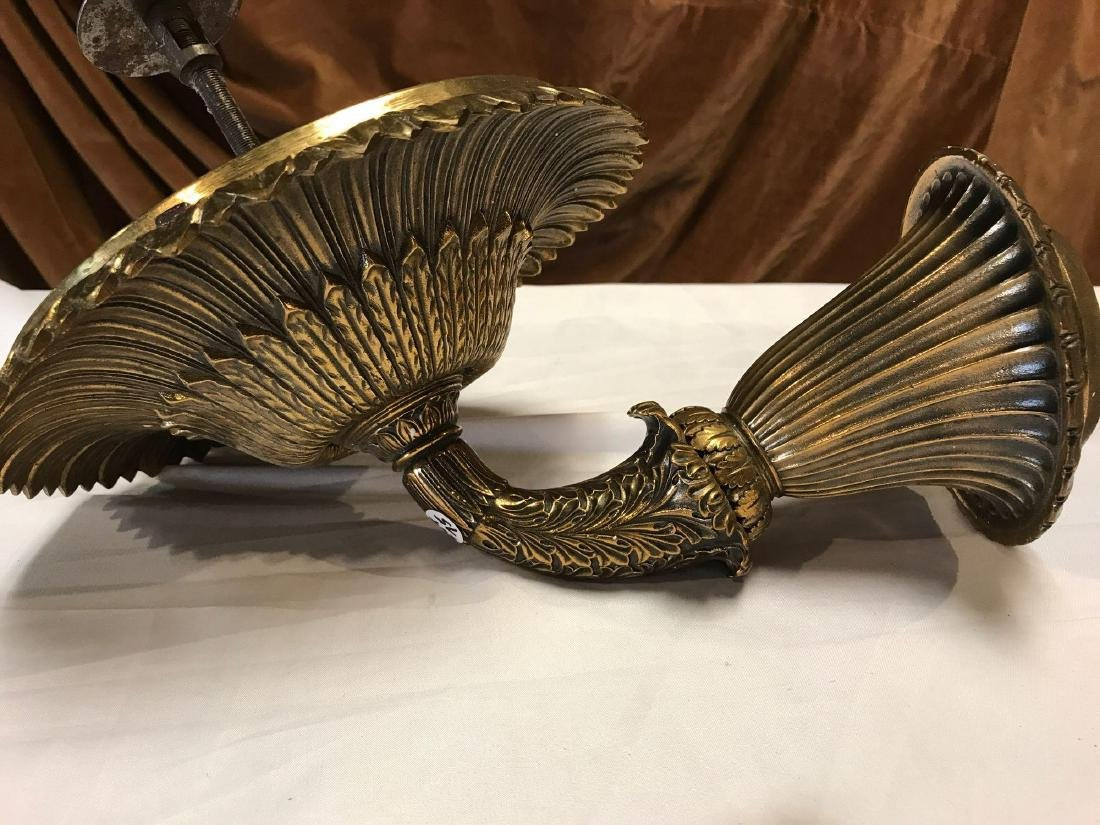 Solid Brass Victorian Sconces - 5