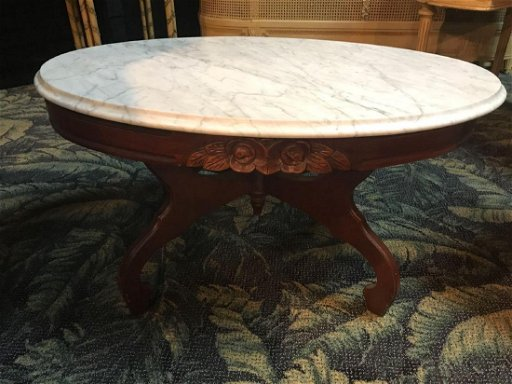 Victorian Marble Top Coffee Table Oct 26 2017 Rapid Estate