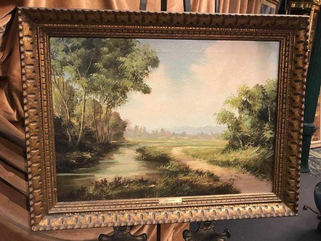 Vintage Oil Painting Signed by G. Aliprandi - 2