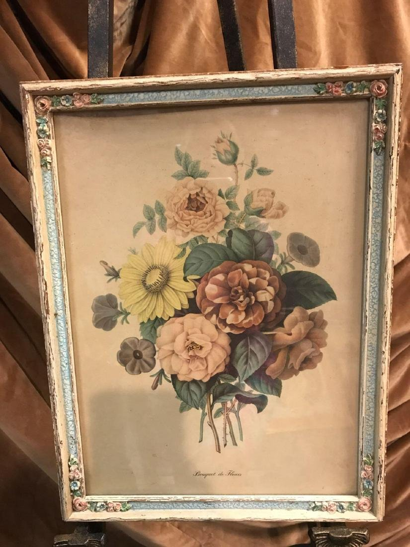Bouquet de Fleurs Botanical Print