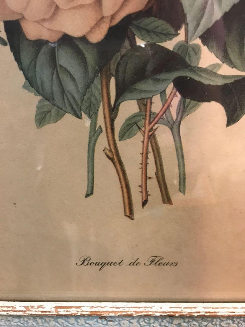 Bouquet de Fleurs Botanical Print - 3