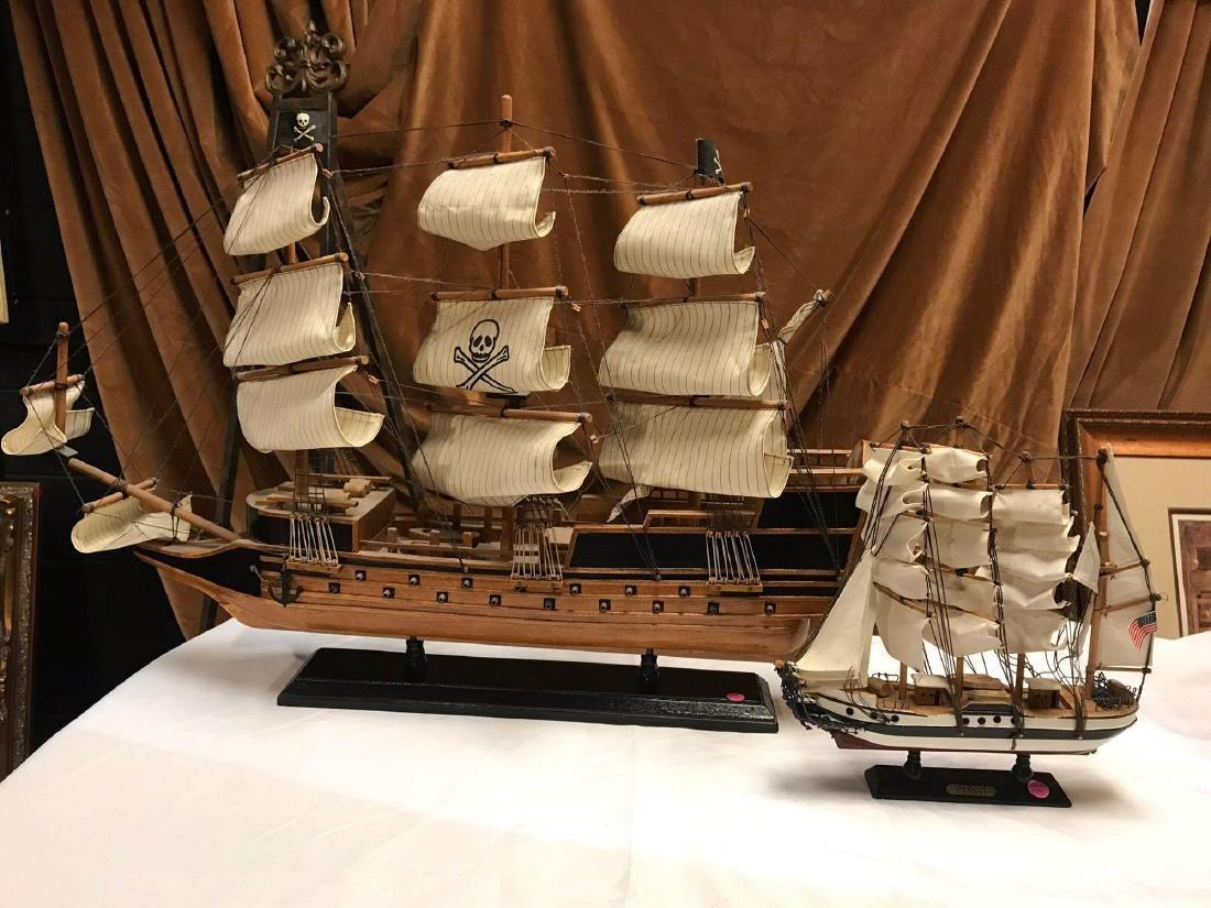 Lot 2 Model Ships One PASSAT