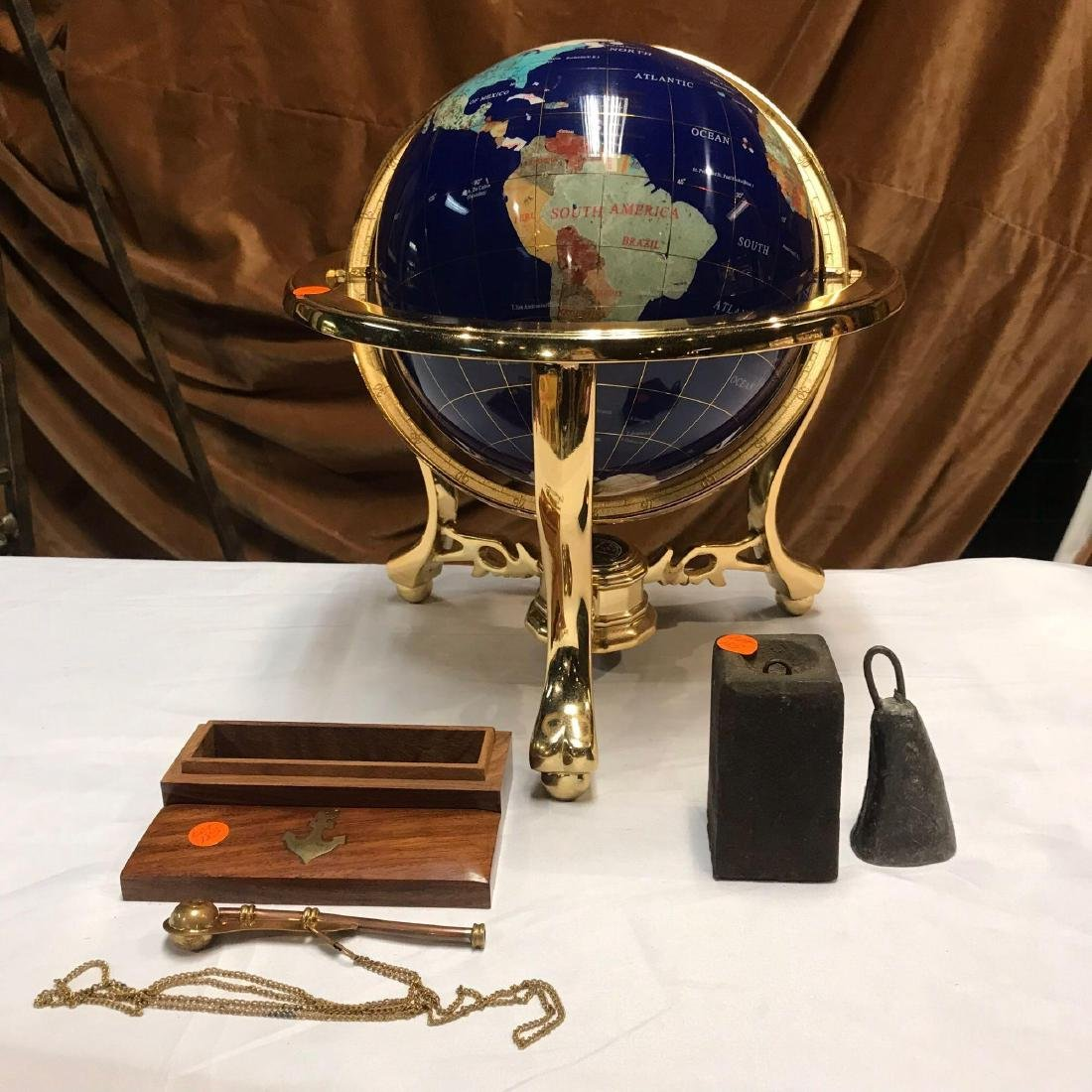 Nautical Lot with Globe