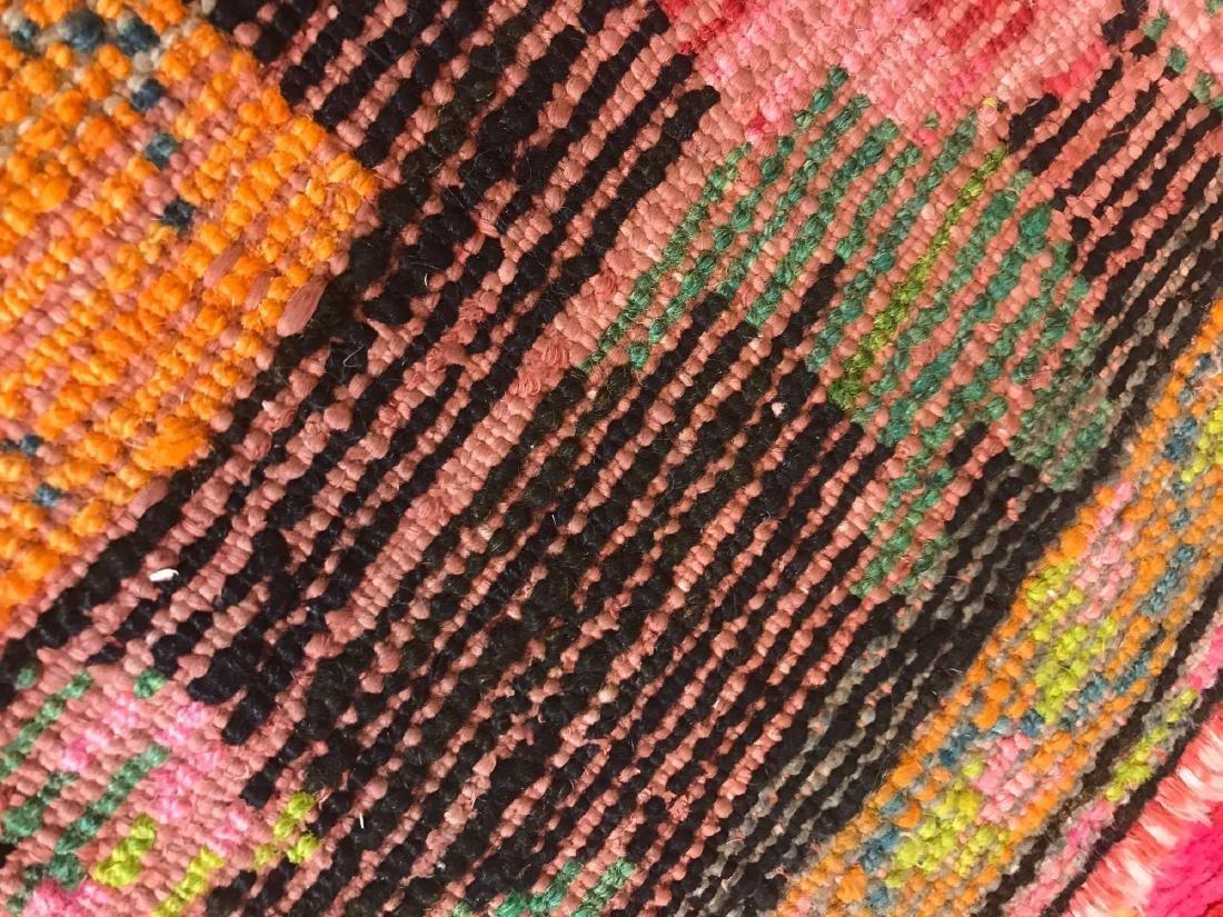 Vintage American Hand-Wooven Rug - 4