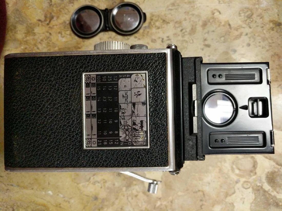 Rolleiflex Frank & Hedecke Braunschweig Camera - 10