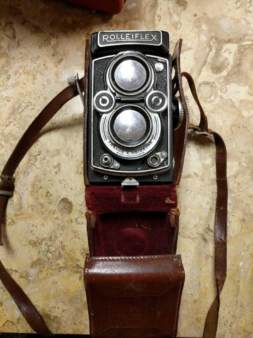 Rolleiflex Frank & Hedecke Braunschweig Camera - 3