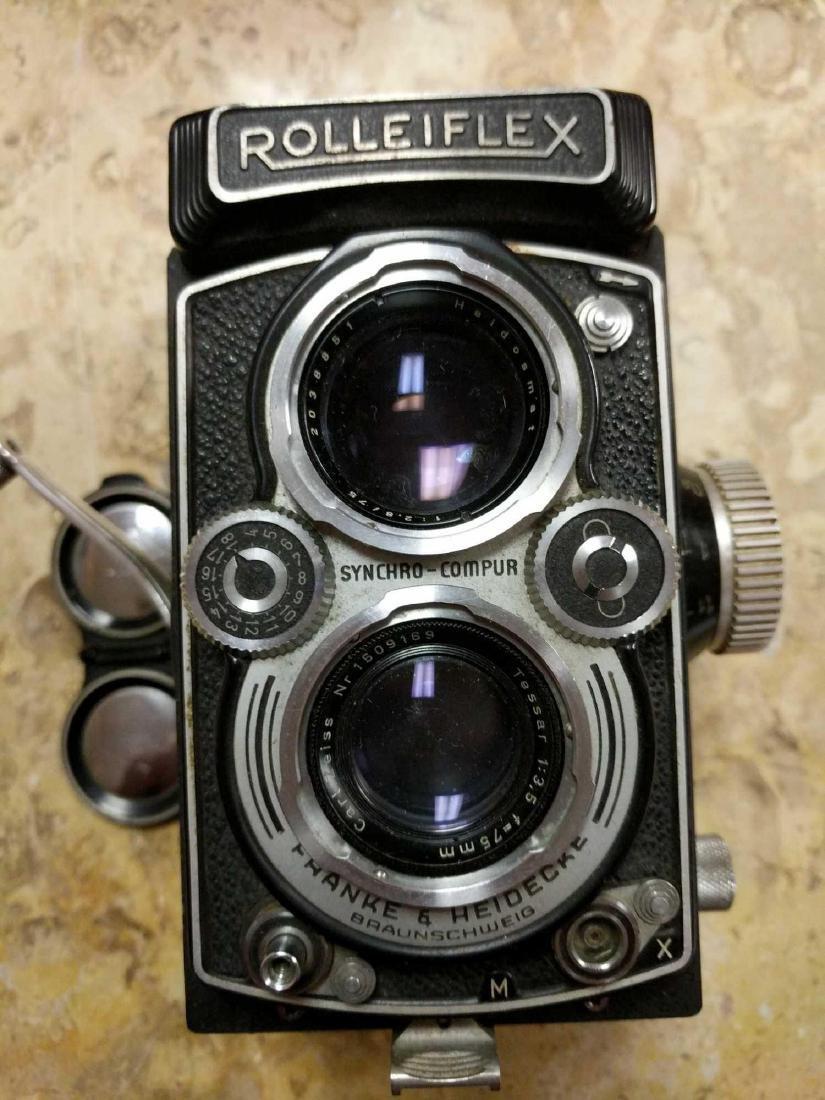 Rolleiflex Frank & Hedecke Braunschweig Camera - 5