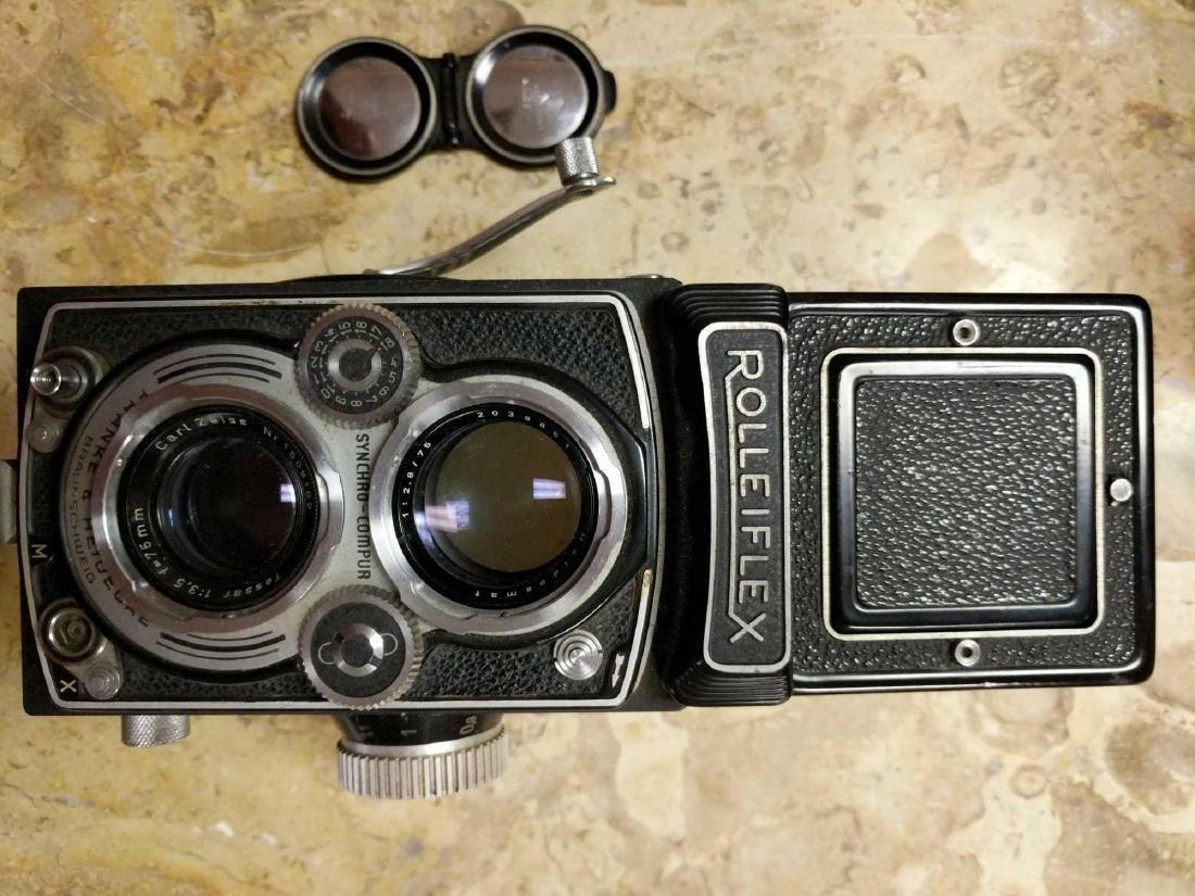 Rolleiflex Frank & Hedecke Braunschweig Camera - 9