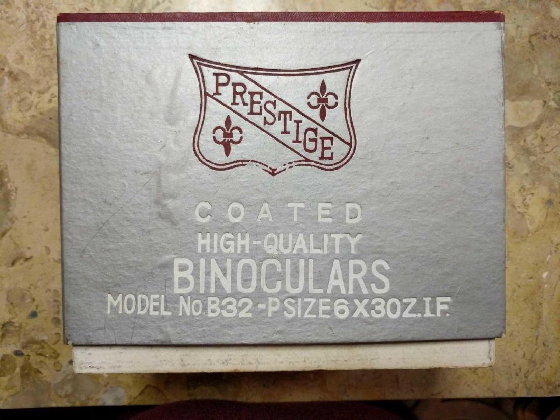 Prestige Binoculars and pre 1940's Biascope Field Glass