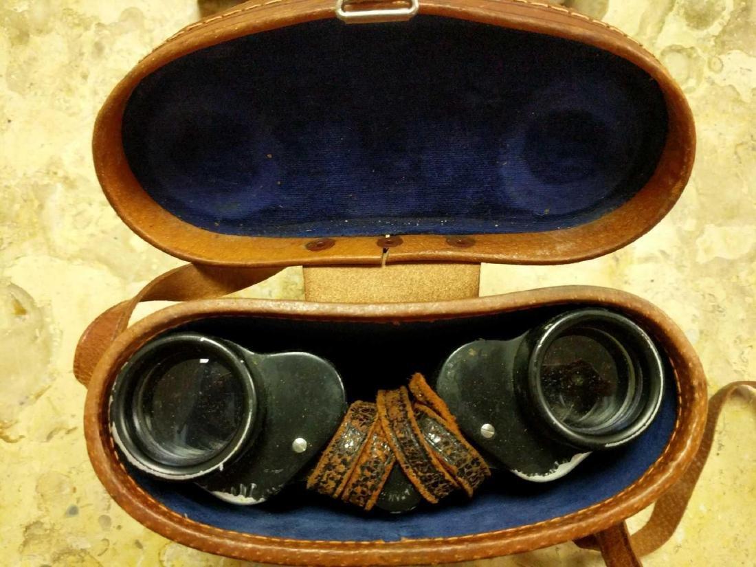 Prestige Binoculars and pre 1940's Biascope Field Glass - 4