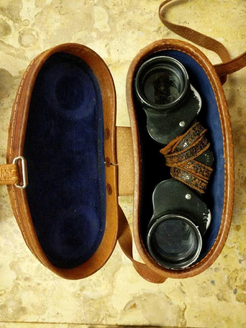 Prestige Binoculars and pre 1940's Biascope Field Glass - 5