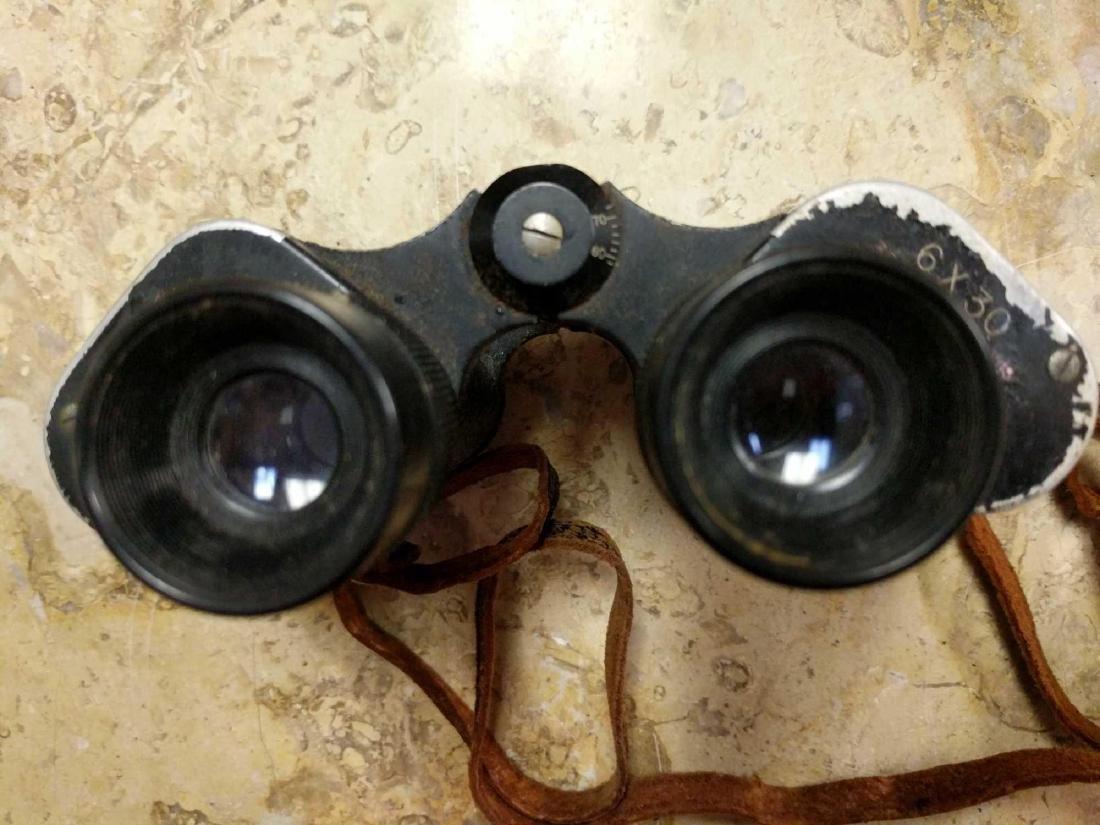 Prestige Binoculars and pre 1940's Biascope Field Glass - 7