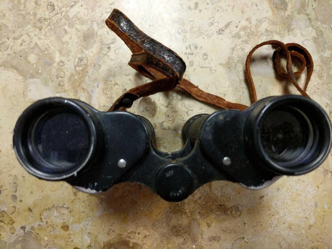 Prestige Binoculars and pre 1940's Biascope Field Glass - 8