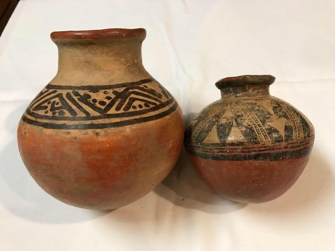 Two Pre-Columbian Pots