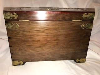 Vintage Asian Jewelry Box - 10