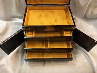 Vintage Asian Jewelry Box - 5