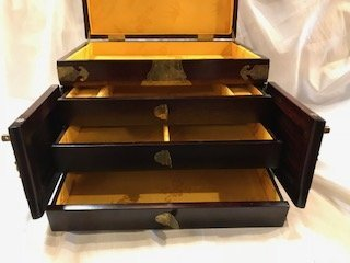 Vintage Asian Jewelry Box - 6