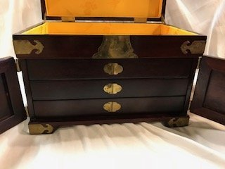 Vintage Asian Jewelry Box - 7