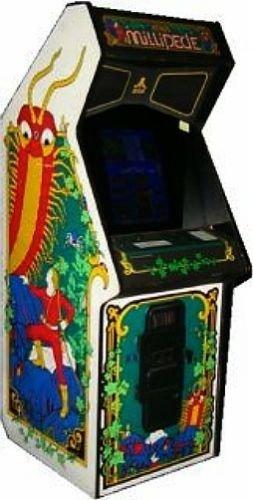 Millipede Atari Full Size Stand Up Arcade Game
