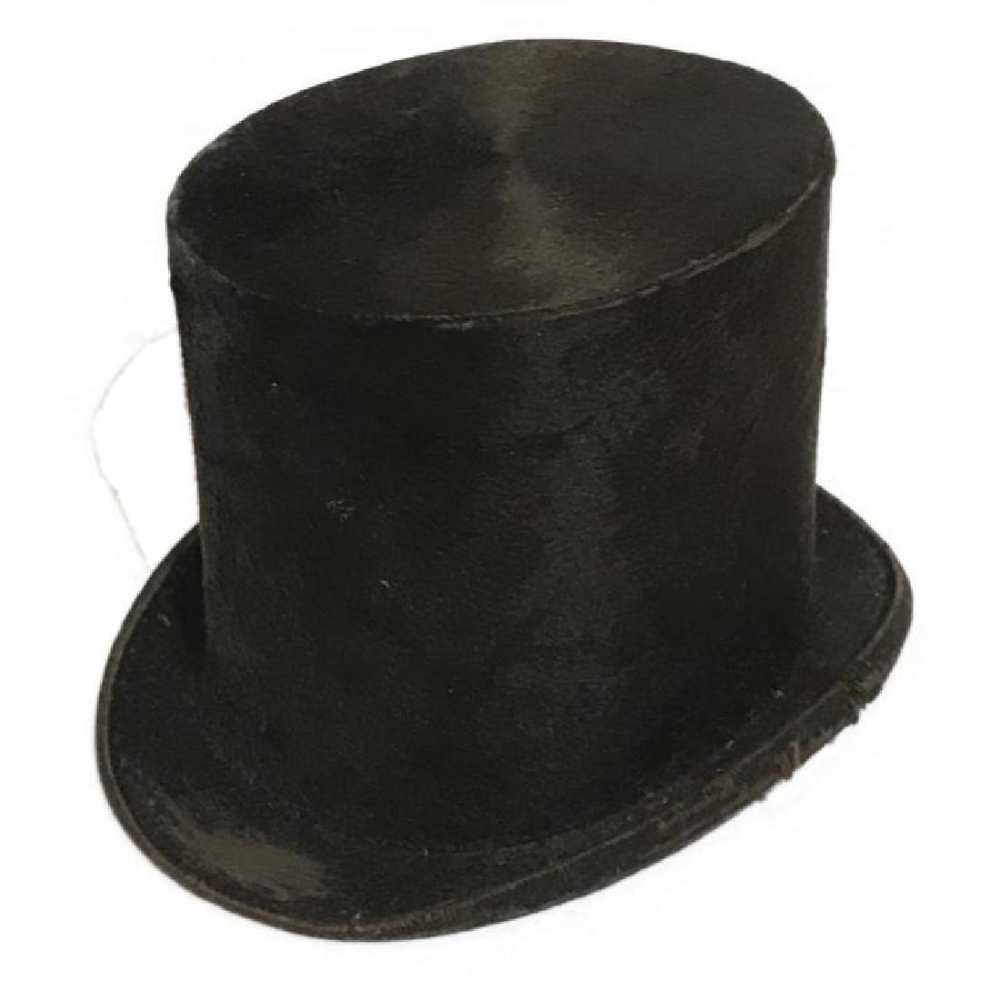 Antique Top Hat Satchell & Son London