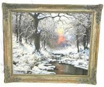 Lazslo Neogrady original oil Painting