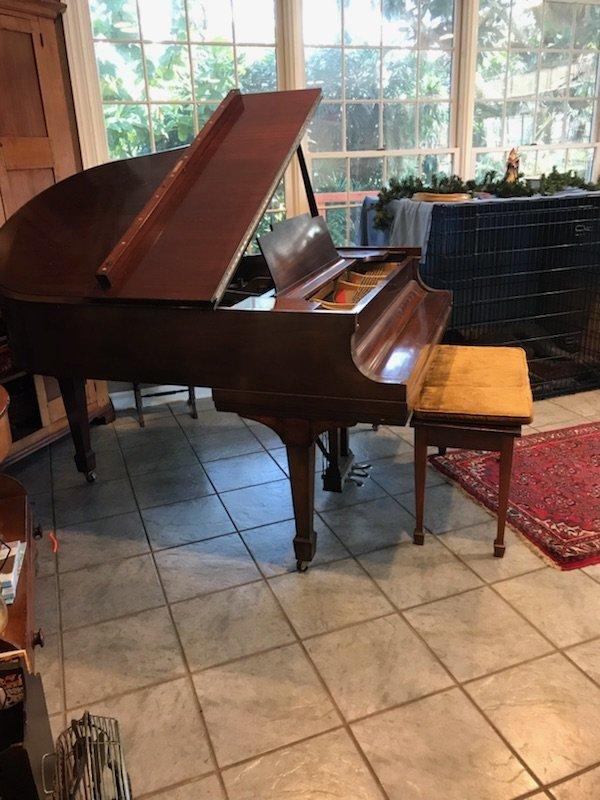 1926 Steinway Baby Grand Piano