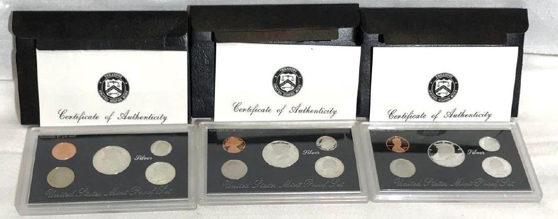 1995 1996 1997 US Mint Silver Proof Set