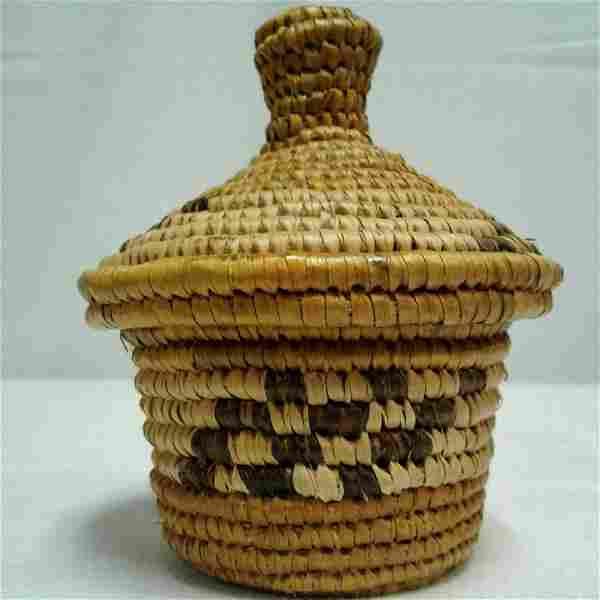 Mini Basket 4 x 35 Pygmy Tribe Africa