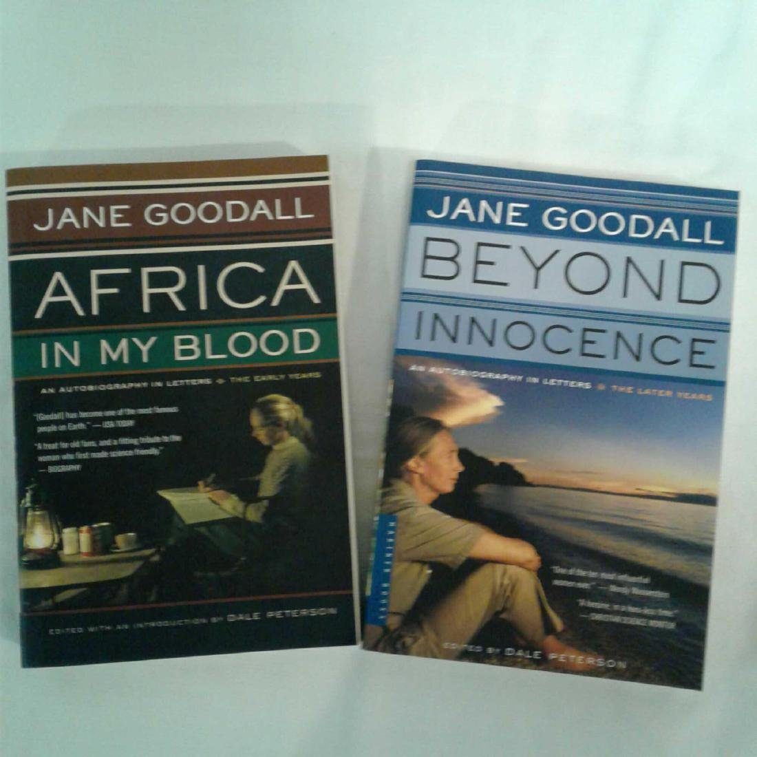 Signed Autobiography By Anthropologist Jane Goodall