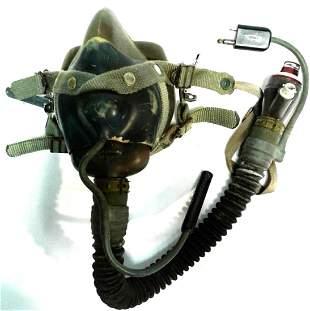 Fighter Pilot Helmet Bag and O2 mouthpiece