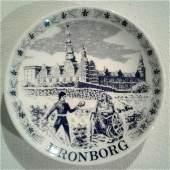 Souvenir Plate Kronburg Castle Shakespeare Hamlet