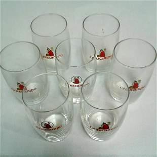 8 Cruzcampo Beer Glasses Spain 425 x 325