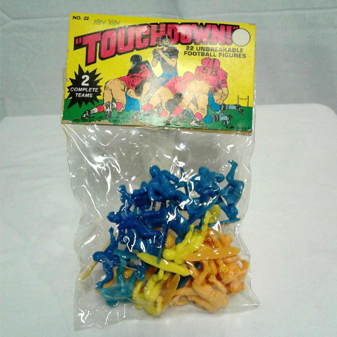 Vintage Joy Toy Plastic Football Player's