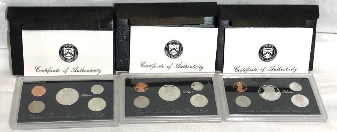 1995, 1996, 1997 US Mint Silver Proof Set