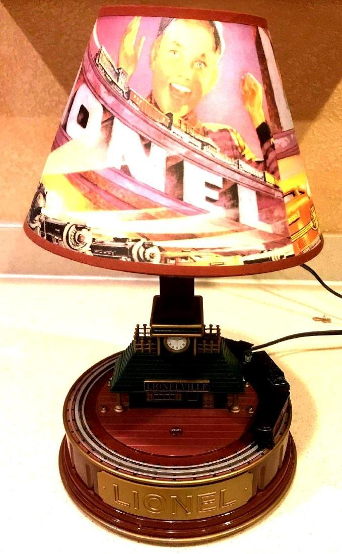 Lionel Train Table Lamp with Shade