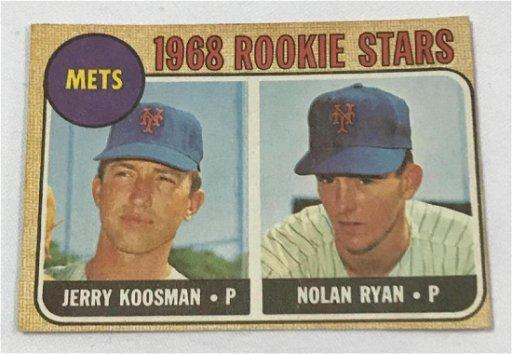 Nolan Ryan 1968 Rookie Card Topps 177