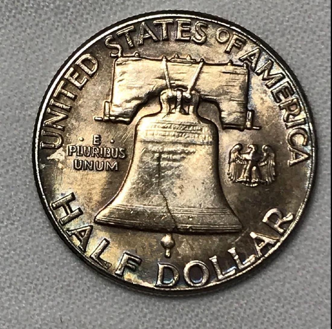 1961 Franklin Half Dollar - 3