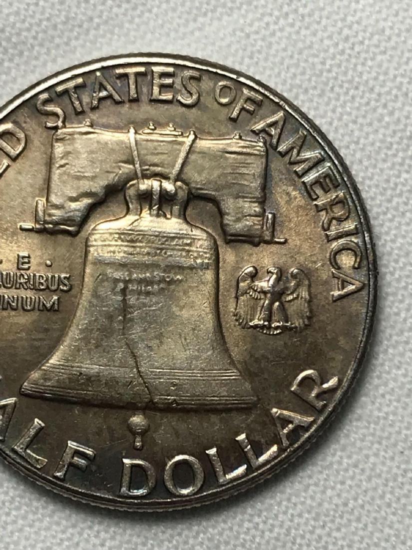 1961 Franklin Half Dollar - 5