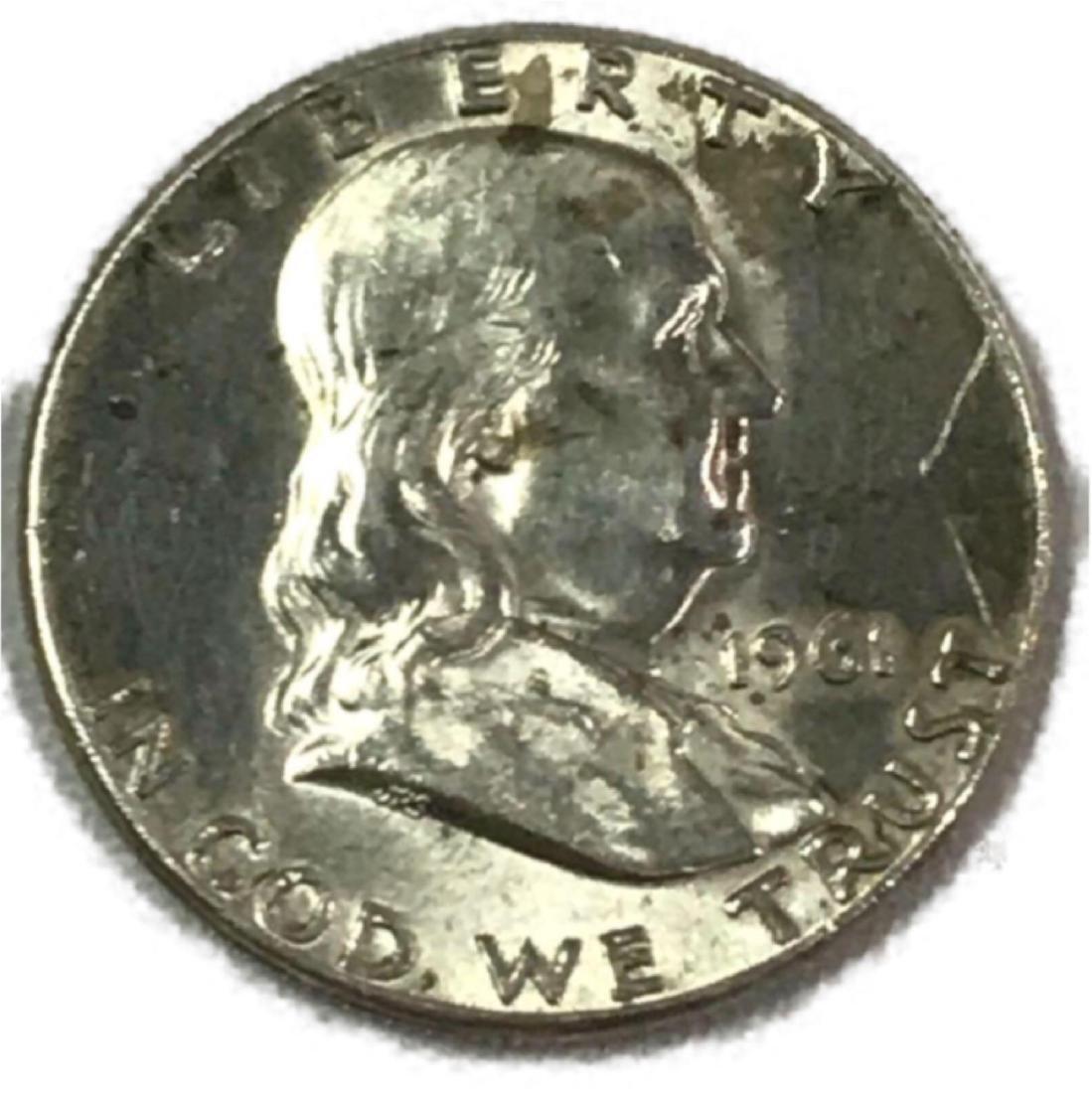 1961 Franklin Half Dollar - 7