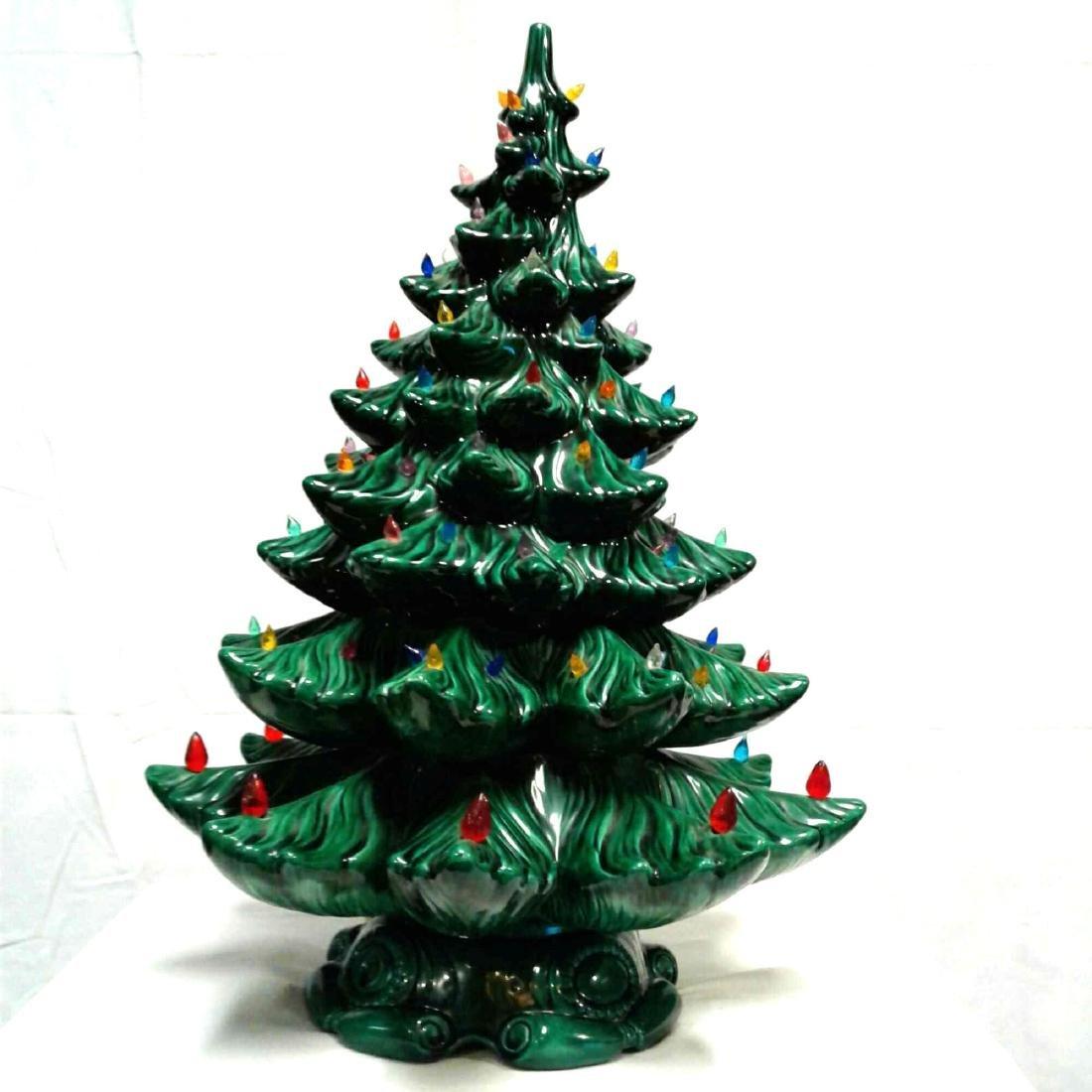 Vintage Ceramic Atlantic Mold Christmas Tree Feb 22 2018 Rapid