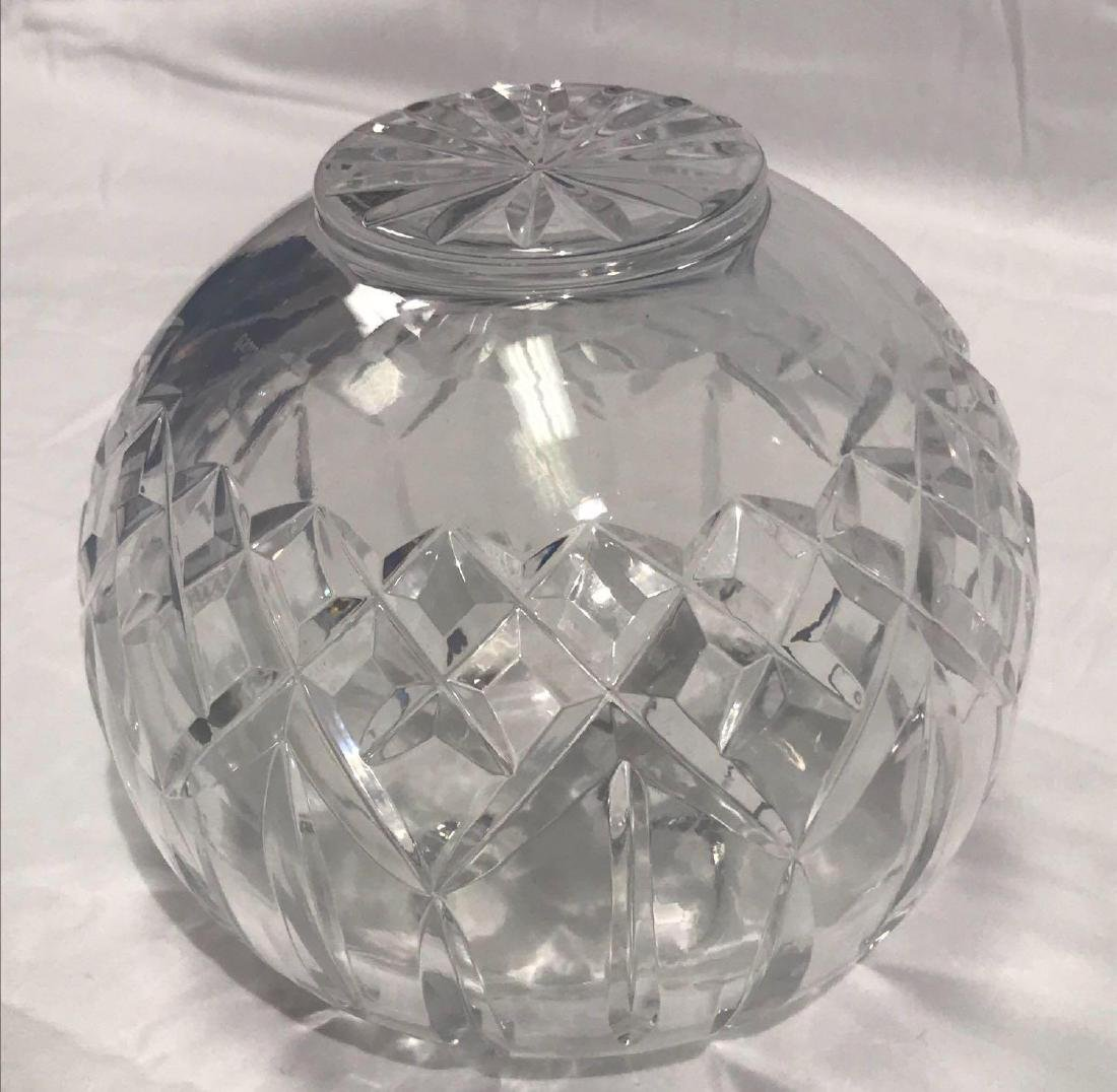 Waterford Lismore Crystal Glass Bowl - 8