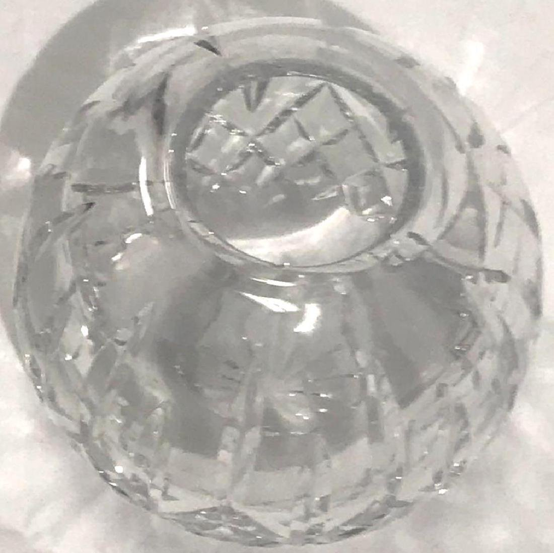 Waterford Lismore Crystal Glass Bowl - 9