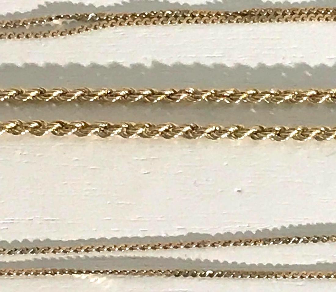 3 14K Gold Bracelets - 3