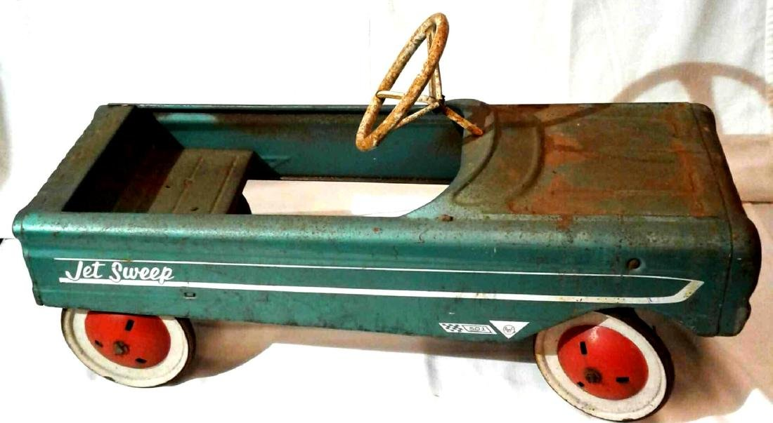 AMF Jet Sweep 501 Pedal Car Barn Find