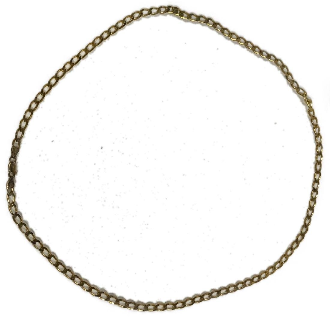Gold Plated Sterling Silver Necklace
