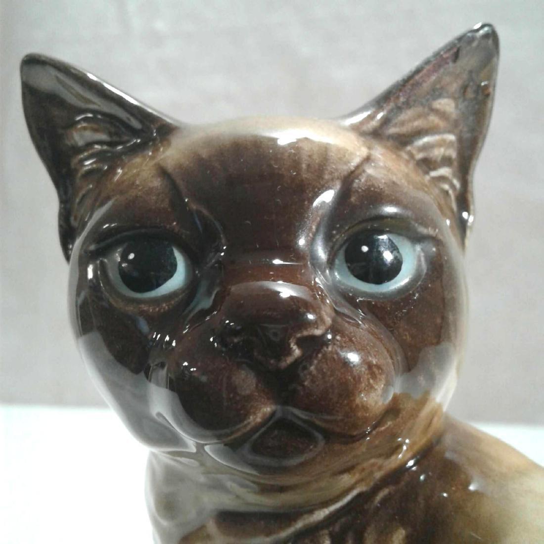 Vintage Goebel Ceramic Cat Figurine - 7