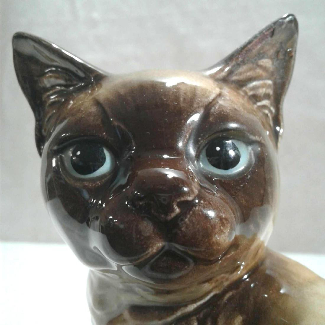 Vintage Goebel Ceramic Cat Figurine - 7